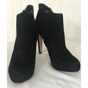 c3f0aa506f465 Sam Edelman Shoes - Sam Edelman KIT Suede Leather Platform Bootie
